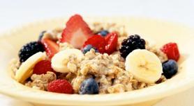 Oatmeal fruit